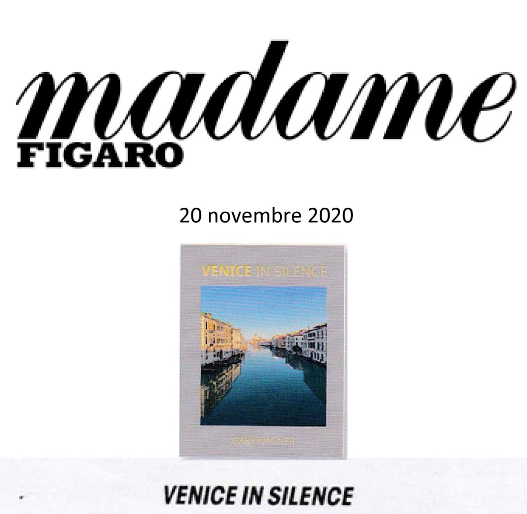 madame figaro presents Venice in Silence
